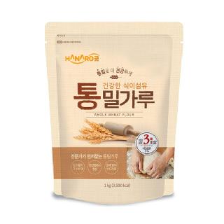 농협하나로마트 HANARO굿 통밀가루 1kg