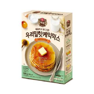 농협하나로마트 씨제이 백설 우리밀 핫케이크 믹스 500g