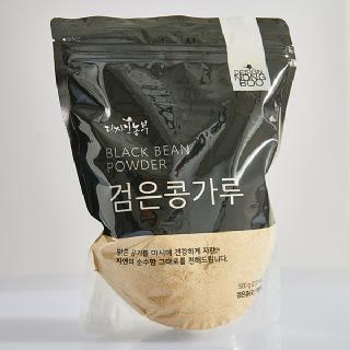 디자인농부 검은콩가루 500g (지퍼백포장)