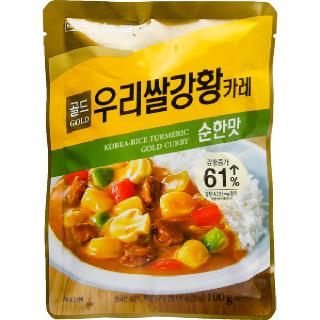 농협하나로마트 HANARO 우리쌀 강황카레 골드 순한맛 100g
