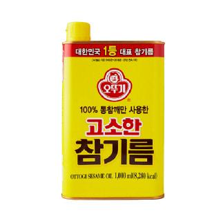 농협하나로마트 오뚜기 고소한 참기름 1,000ml