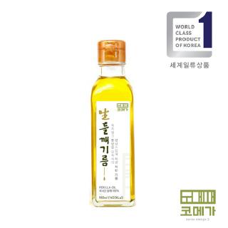 코메가 볶지않은 생들기름 180ml
