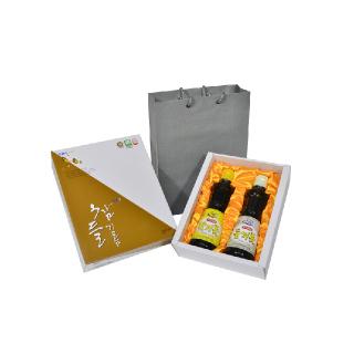 지보농협 예천 참들기름 선물세트 2호