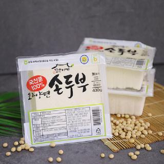 [남도장터]향유미가 화양면 손두부 400g 3모