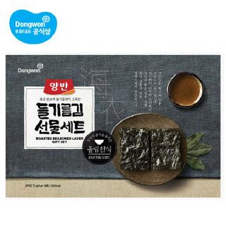 동원 들기름김세트-S호x4개(1BOX) 선물세트