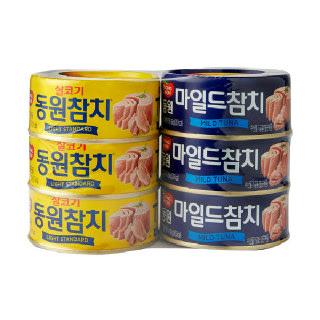 농협하나로마트 동원살코기 + 마일드참치(150g*3 + 150g*3)