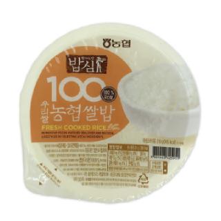 농협 100% 우리쌀 농협쌀밥 24입