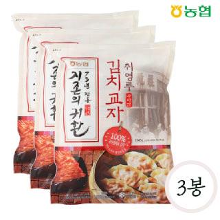 농협 취영루 수라간 김치교자 1kg*3봉