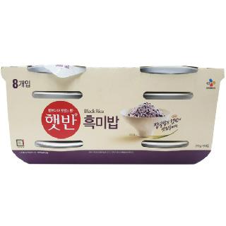 농협하나로마트 햇반 흑미밥 210g*8개입