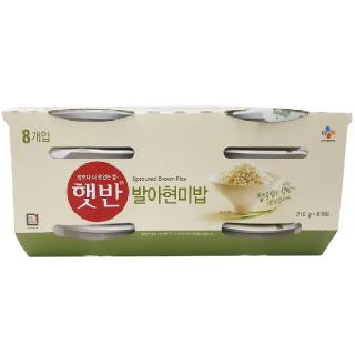 농협하나로마트 햇반 발아현미밥 210g*8