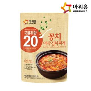 아워홈 꽁치 아삭김치찌개 400g