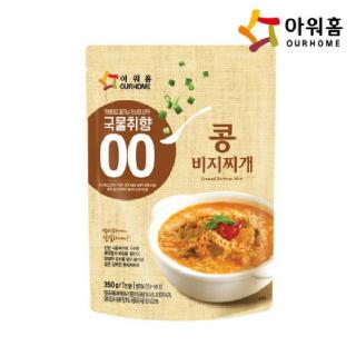 아워홈 손수 콩비지찌개 350g
