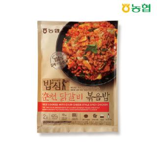 농협 밥심 춘천닭갈비 볶음밥(2인분) 420g