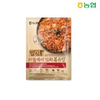 농협 밥심 차돌박이 김치볶음밥(2인분) 420g