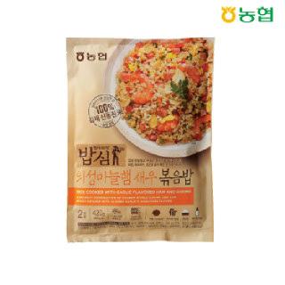 농협 밥심 의성마늘햄 새우볶음밥(2인분) 420g