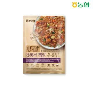 농협 밥심 안동식찜닭 볶음밥(2인분) 420g