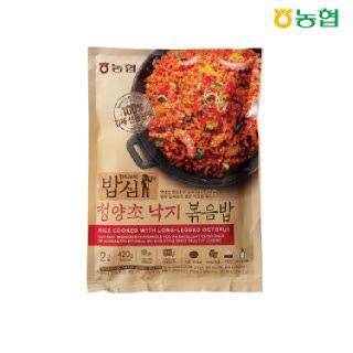 농협 밥심 청양초낙지 볶음밥(2인분) 420g