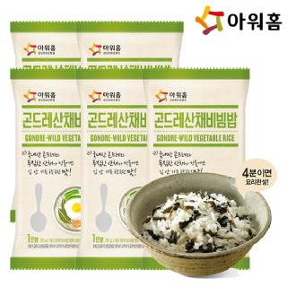 아워홈 곤드레산채비빔밥 250g 5개