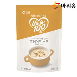 아워홈 언더백 포테이토 스프  140g 1개