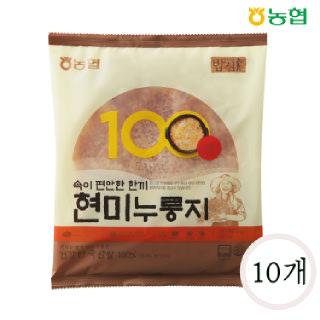 농협 밥심 국산 현미누룽지 150g*10개
