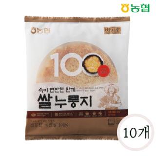 농협 밥심 국산 쌀누룽지 150g*10개