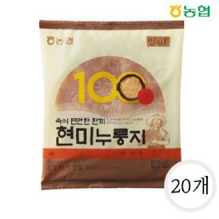농협 밥심 국산 현미누룽지 150g*20개(1박스)