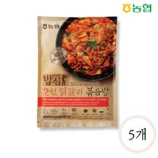 농협 밥심 춘천닭갈비 볶음밥(2인분) 420g*5개