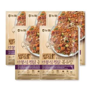 농협 밥심 안동식찜닭 볶음밥(2인분) 420g*5개
