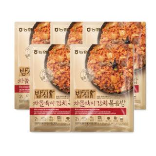 농협 밥심 차돌박이김치 볶음밥(2인분) 420g*5개
