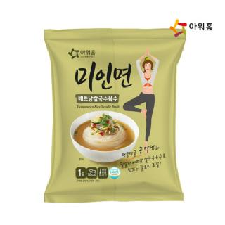 아워홈 [봉지형] 미인면 (베트남쌀국수육수) 192g 1개