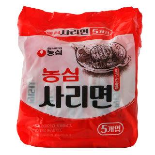 농협하나로마트 농심 사리면 찌개/전골용 110g*5