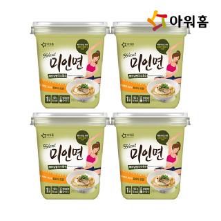 아워홈 미인면(베트남쌀국수육수) 192g, 4개