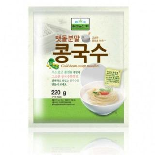맷돌분말 콩국수(220g)