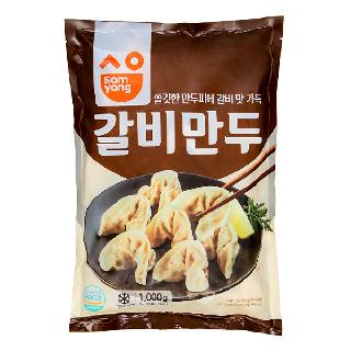 삼양 갈비만두1000g