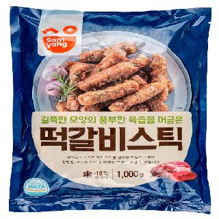 삼양 떡갈비스틱1000g