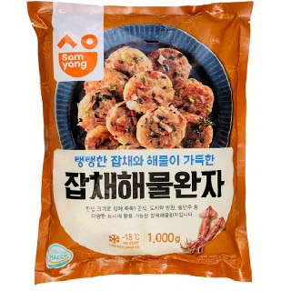 삼양 잡채해물완자1000g