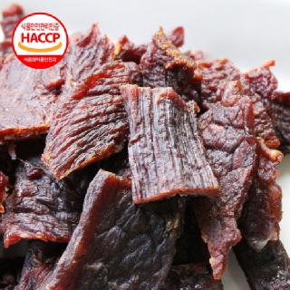 [HACCP] 국내산 쇠고기 안심육포 10봉(매운맛/순한맛)