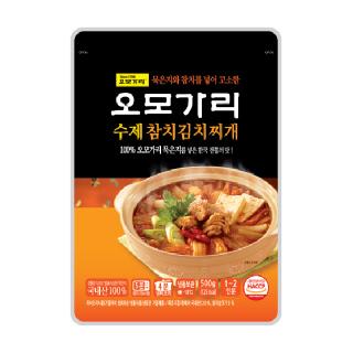 오모가리 참치김치찌개 500g*2팩