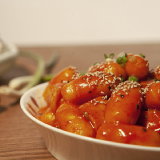 100%국산쌀로 만든 노다지 in 치즈떡볶이떡 500g x 4봉 (소스미포함)