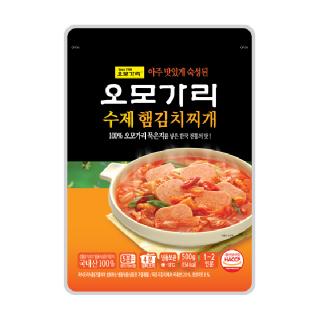 오모가리 햄김치찌개 500g*2팩