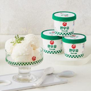 [서울우유] 아이스크림 100ml x10개 (작은컵/흰우유)
