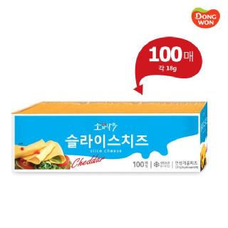 소와나무 슬라이스Ⅱ 치즈 1.8Kg  100장