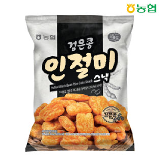 농협 우리쌀 검은콩 인절미스낵 125g