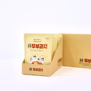 [남도장터]쿠키아 뚜부과자 오곡 50gx6개