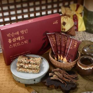 담양한과 홍삼레드 스위트 스틱 10개입