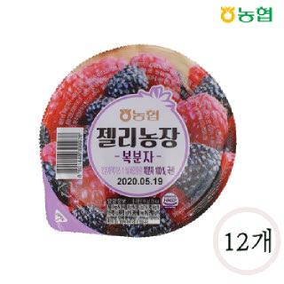 농협 떠먹는 젤리농장 복분자맛 160g*12개