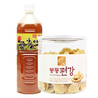봉동 편강500g + 생강농축액1L