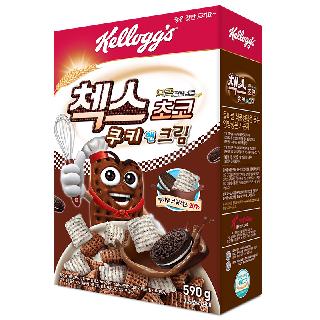 농협하나로마트 켈로그 첵스초코 쿠키앤크림 590g
