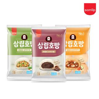 냉동 꼬마호빵 단팥 6입 4봉 외 (야채/피자 택)