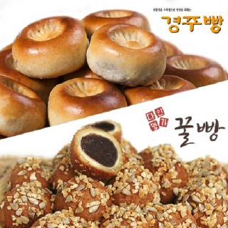 다인명가 경주빵 32g x 10개입 + 꿀빵 50g x 6개입(일반박스)